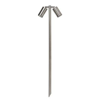 Double Adjustable Spike Spotlight - 1000mm Spike 316 Stainless S