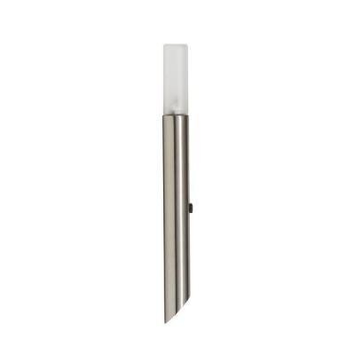 Garden Spike Light with Frosted Glass Diffuser Stainless Steel