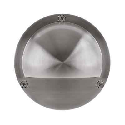 Surface Mounted Step Light with Eyelid 316 Stainless Steel