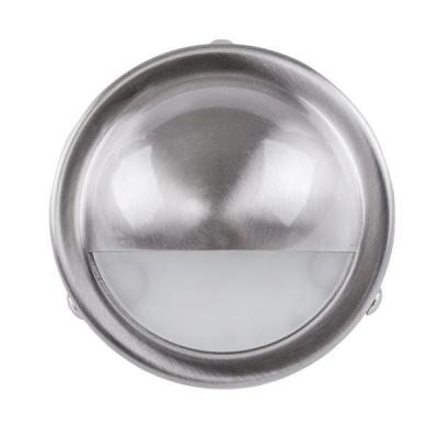 Surface Mounted Step Light with Large Eyelid 316 Stainless Steel