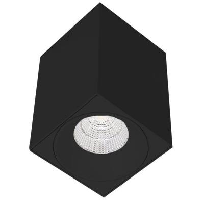LED D/LIGHT 9W SQ. SUR. 6K WH   *